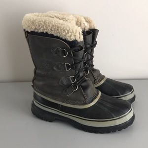 Sorel Caribou leather winter boots